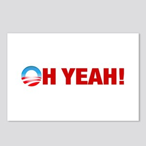 Obama Wins Oh Yeah! Postcards (Package of 8)