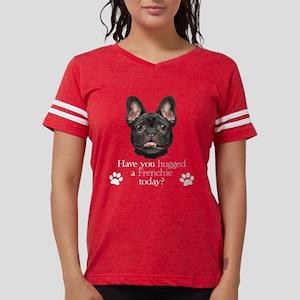 Frenchie Hug Women's Dark T-Shirt
