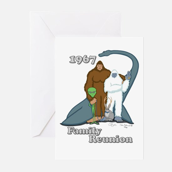 1967 Family Reunion Greeting Cards (Pk of 10)