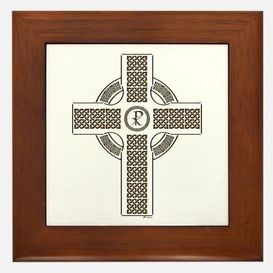 Celtic Cross Framed Tile