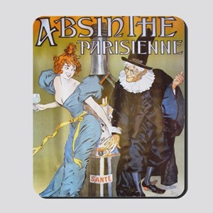 Absinthe Parisienne Mousepad