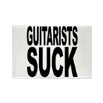 Guitarists Suck Rectangle Magnet