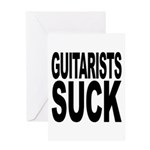 Guitarists Suck Greeting Card