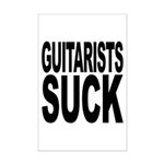Guitarists Suck Mini Poster Print