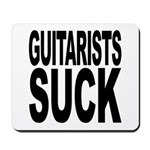 Guitarists Suck Mousepad