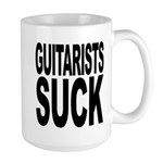 Guitarists Suck Large Mug