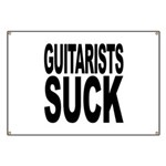 Guitarists Suck Banner
