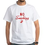 Conrail No Smoking White T-Shirt