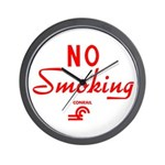 Conrail No Smoking Wall Clock