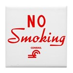 Conrail No Smoking Tile Coaster