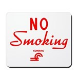 Conrail No Smoking Mousepad
