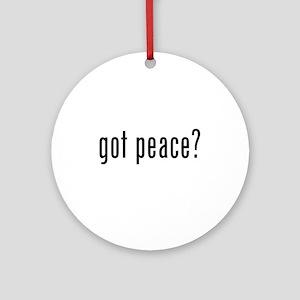 got peace? Ornament (Round)