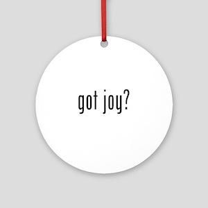 got joy? Ornament (Round)