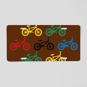 BMX Bikes Aluminum License Plate