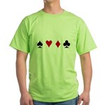 Contract Bridge Green T-Shirt