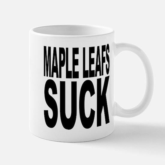 Maple Leafs Suck Mug