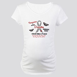 Diabetes Awareness Month 2.2 Maternity T-Shirt