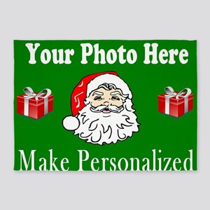 Make Personalized Christmas GIfts 5'x7'Area Rug