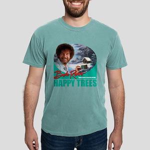 DarkSweatshirt_HappyTrees_PaintHandleGreen T-Shirt