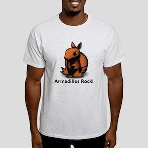 Armadillos Rock! Light T-Shirt