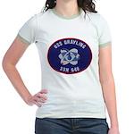 USS GRAYLING Jr. Ringer T-Shirt