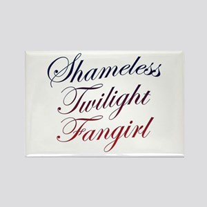 Shameless Twilight Fangirl Rectangle Magnet