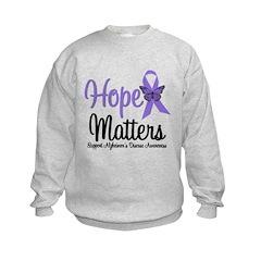 Alzheimer's Hope Matters Sweatshirt