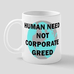 HUMAN NEED Mug