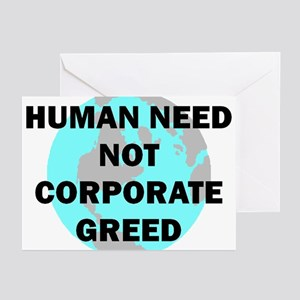 HUMAN NEED Greeting Cards (Pk of 10)