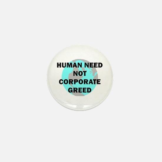 HUMAN NEED Mini Button