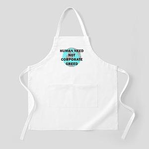 HUMAN NEED BBQ Apron