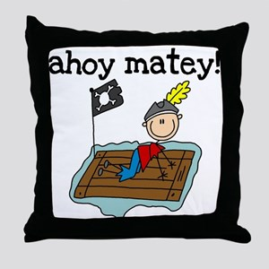I'm a Pirate Throw Pillow