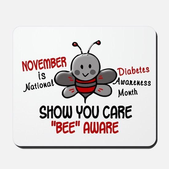 Diabetes Awareness Month 4.1 Mousepad