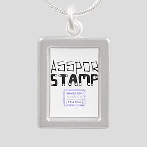 Passport Stamp Necklaces
