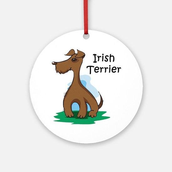 Irish Terrier Keepsake (Round)