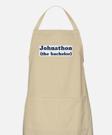 Johnathon the bachelor BBQ Apron