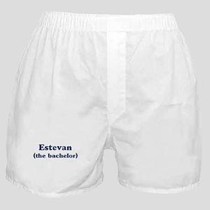 Estevan the bachelor Boxer Shorts