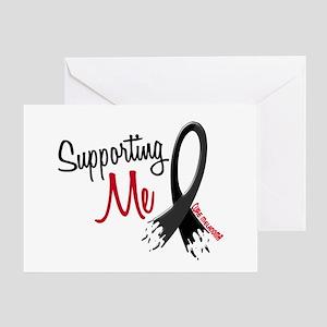 Supporting Me MELANOMA Greeting Card