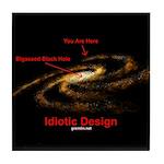 Idiotic Design Tile Coaster