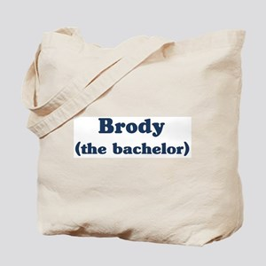 Brody the bachelor Tote Bag