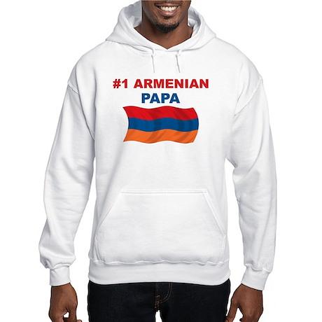 #1 Armenian Papa Hooded Sweatshirt