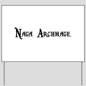 Naga Archmage Yard Sign