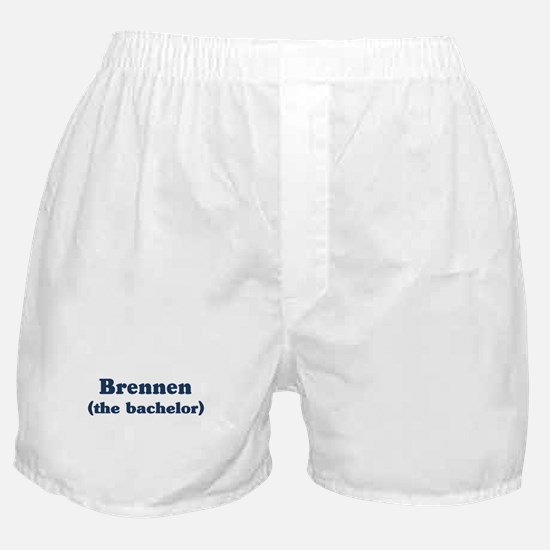 Brennen the bachelor Boxer Shorts