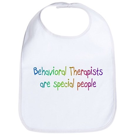 Behavioral Therapist Are Special People Bib