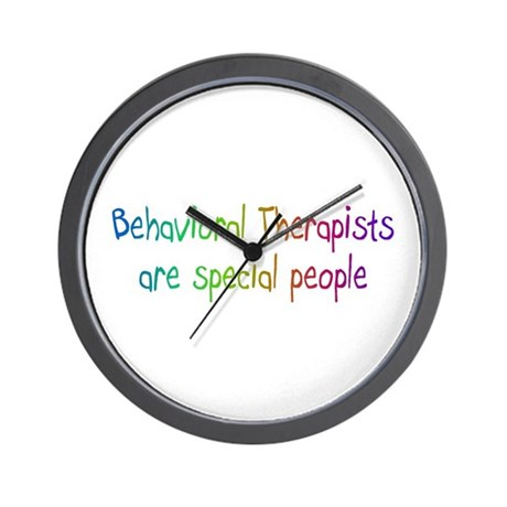 Behavioral Therapist Are Special People Wall Clock