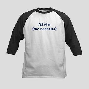 Alvin the bachelor Kids Baseball Jersey