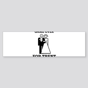 Game over for Trent Bumper Sticker