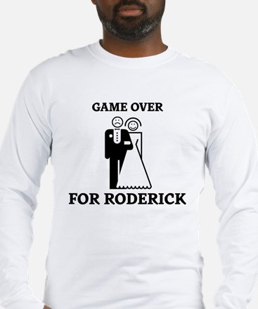 Game over for Roderick Long Sleeve T-Shirt