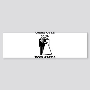 Game over for Shea Bumper Sticker