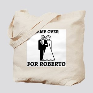 Game over for Roberto Tote Bag